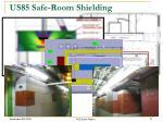 us85 safe room shielding