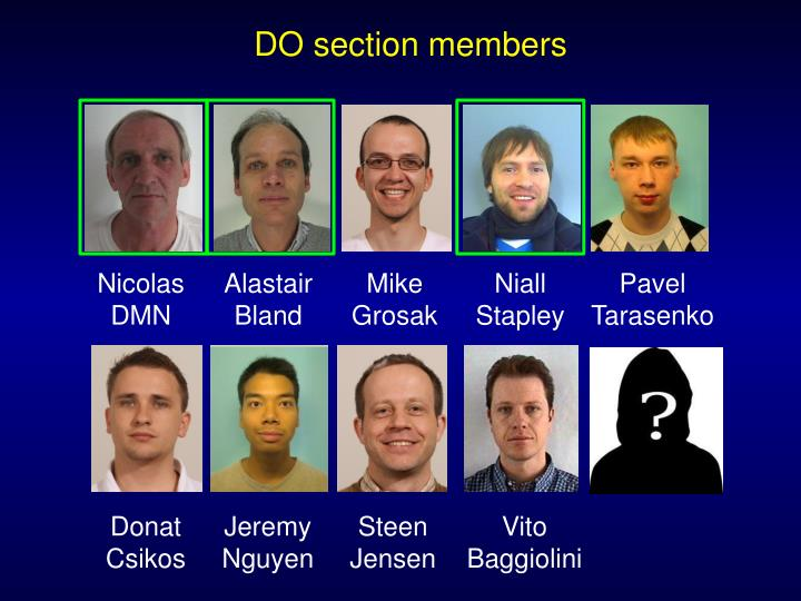 DO section members