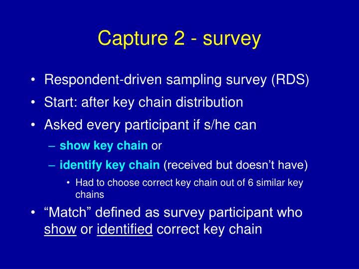 Capture 2 - survey