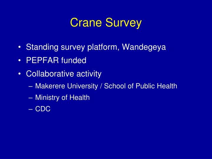 Crane Survey