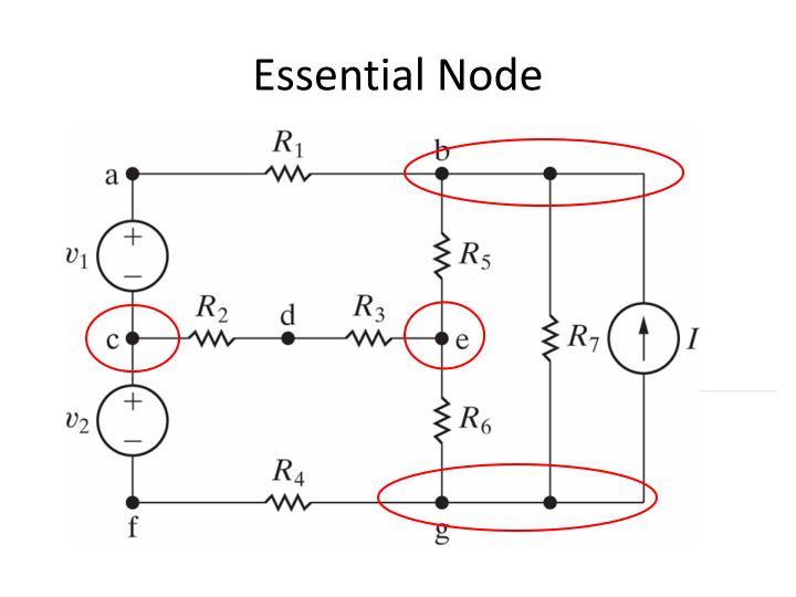 Essential Node