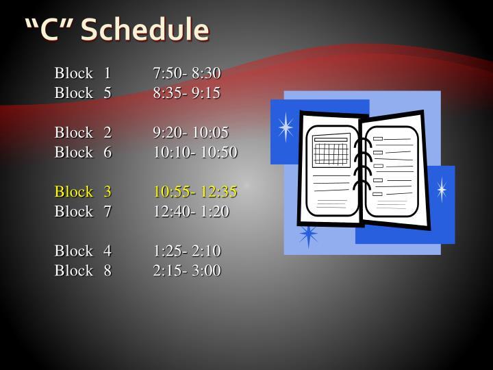 Block17:50- 8:30