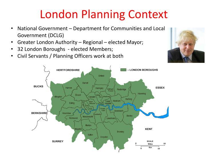 London Planning Context