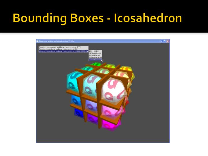 Bounding Boxes -