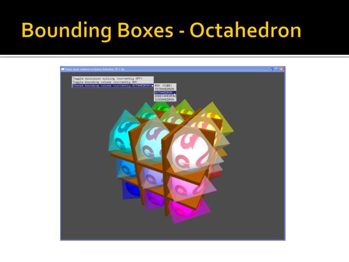 Bounding Boxes - Octahedron