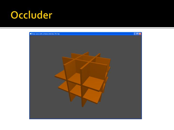 Occluder