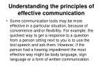 understanding the principles of effective communication4