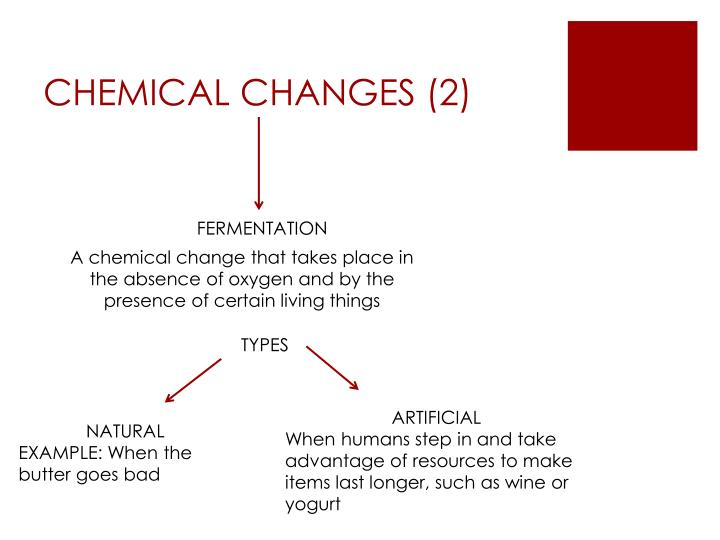 CHEMICAL CHANGES (2)