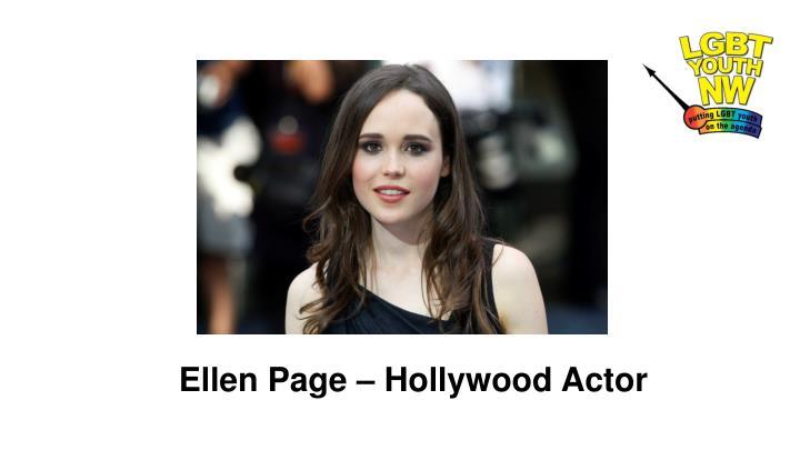 Ellen Page – Hollywood Actor