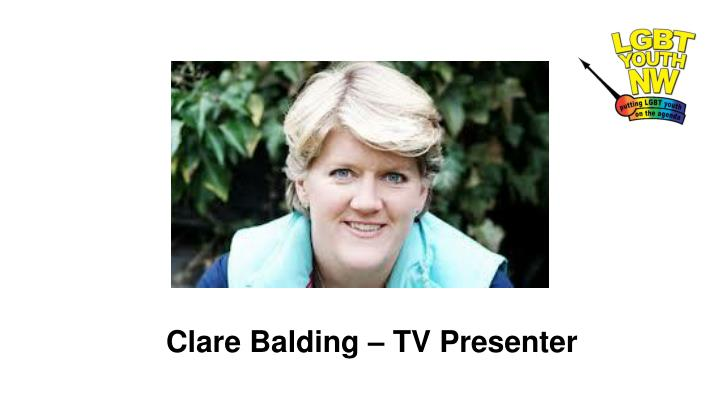 Clare Balding – TV Presenter