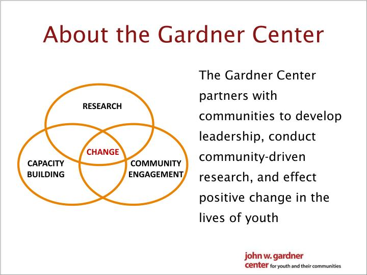 About the Gardner Center