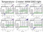 temperature 2 meter mam 2002 night