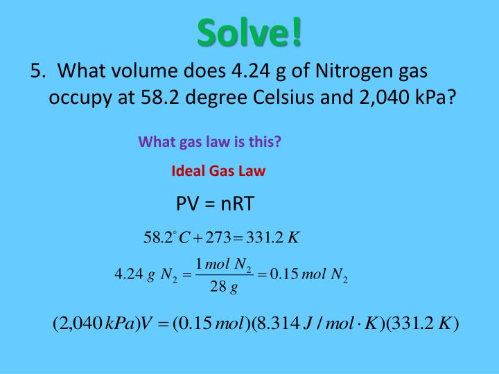 Solve!