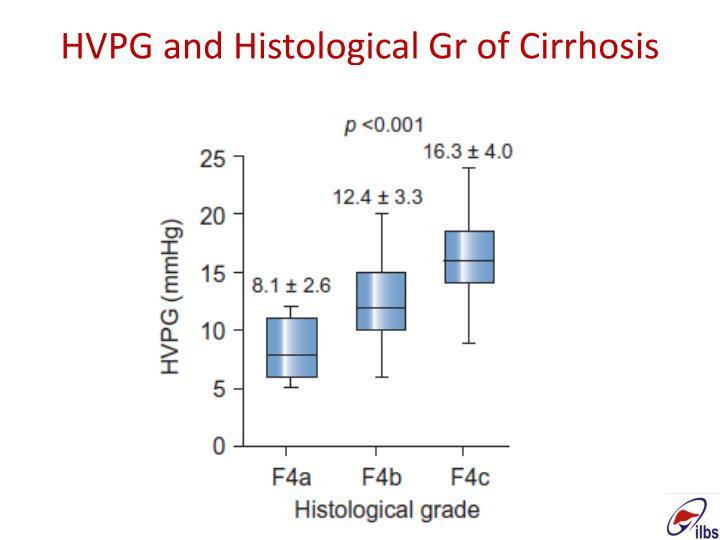 HVPG and Histological