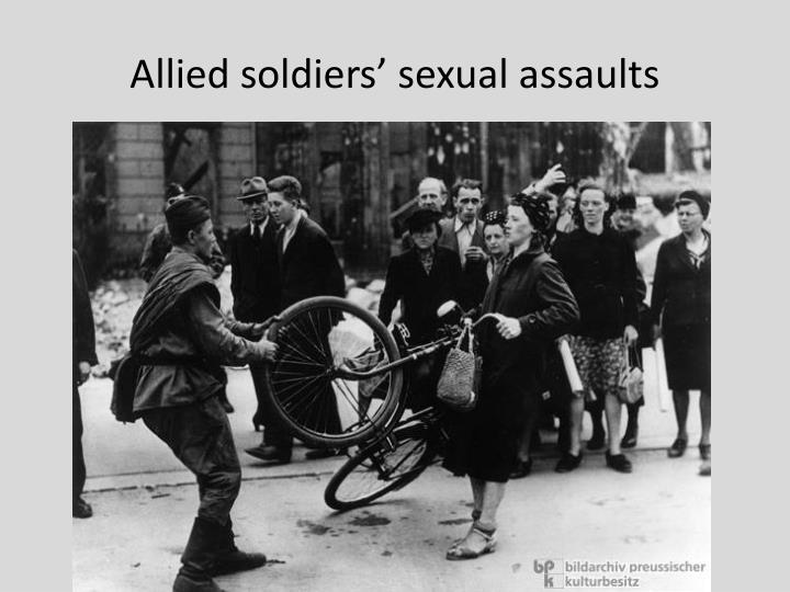 Allied soldiers' sexual