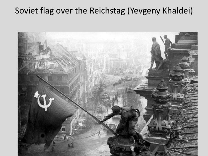 Soviet flag over the Reichstag (