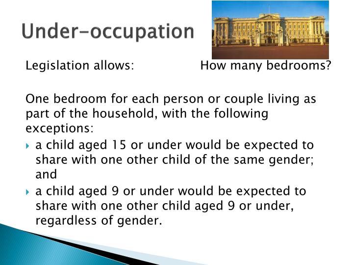 Under-occupation
