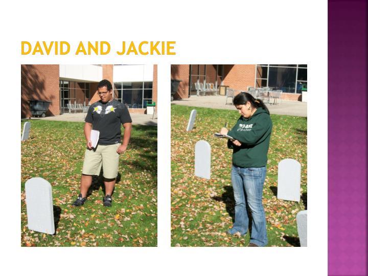 David and Jackie