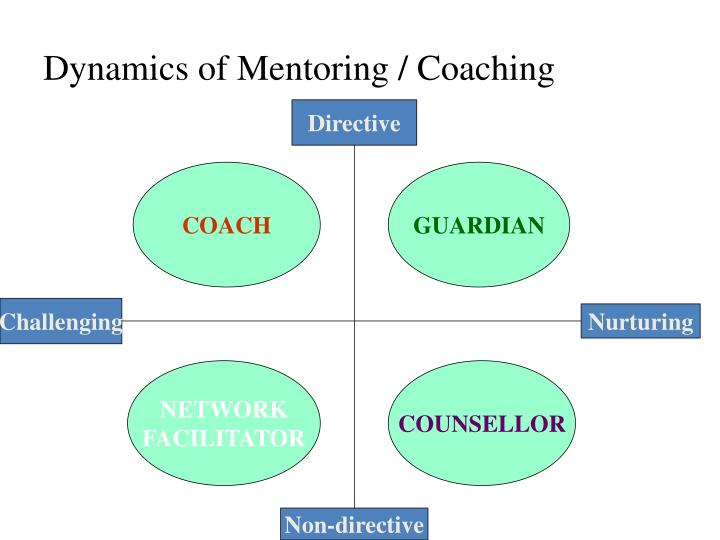 Dynamics of Mentoring / Coaching