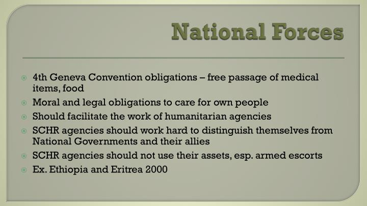 National Forces