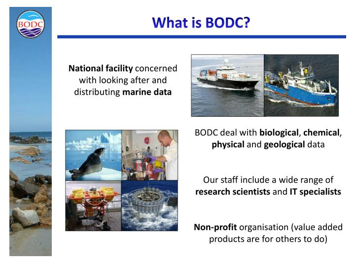 What is BODC?