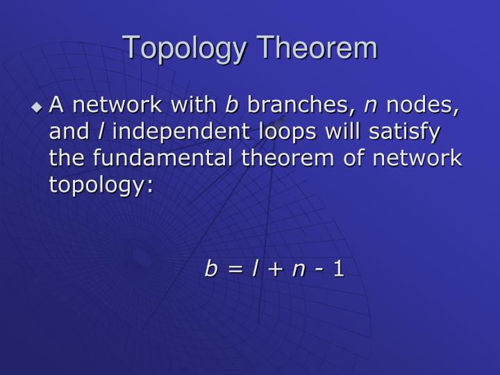 Topology Theorem