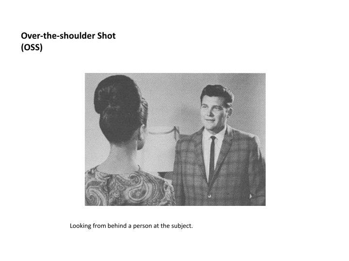 Over-the-shoulder Shot (OSS)
