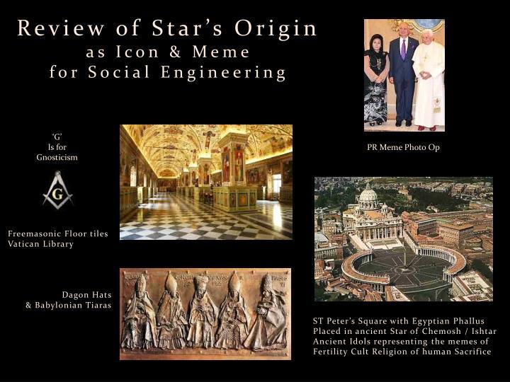 Review of Star's Origin