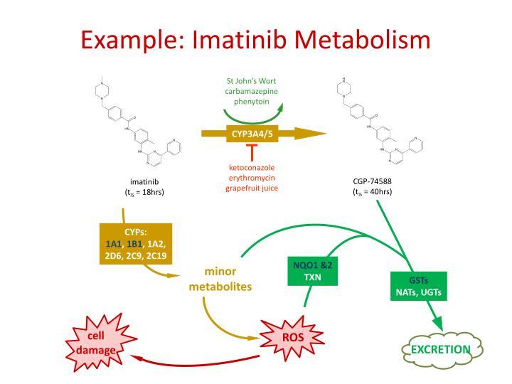 Example: Imatinib