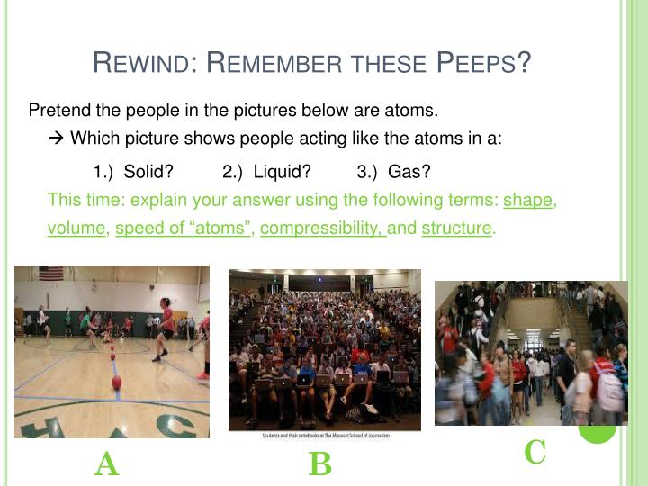 Rewind: Remember these Peeps?