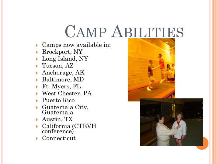 Camp Abilities