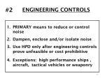 engineering controls