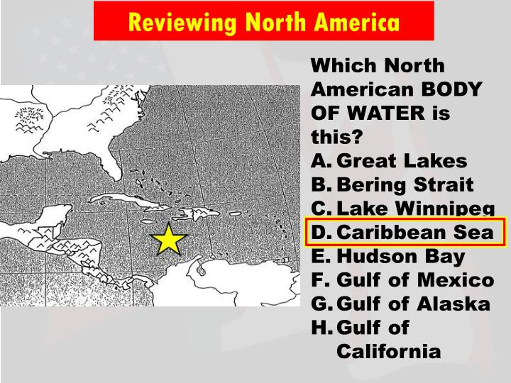 Reviewing North America