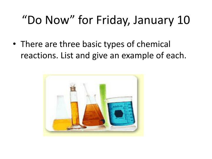 """""""Do Now"""" for Friday, January 10"""
