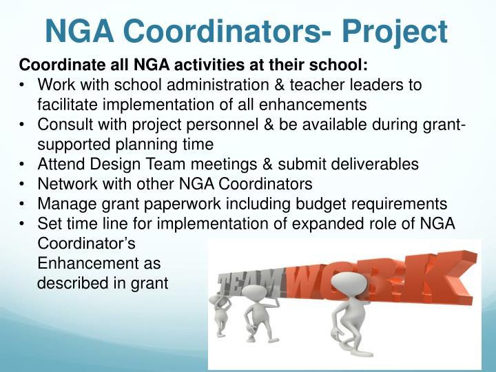 NGA Coordinators- Project