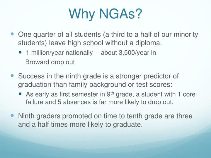 Why NGAs?