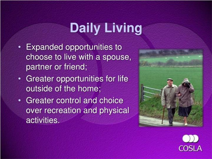Daily Living