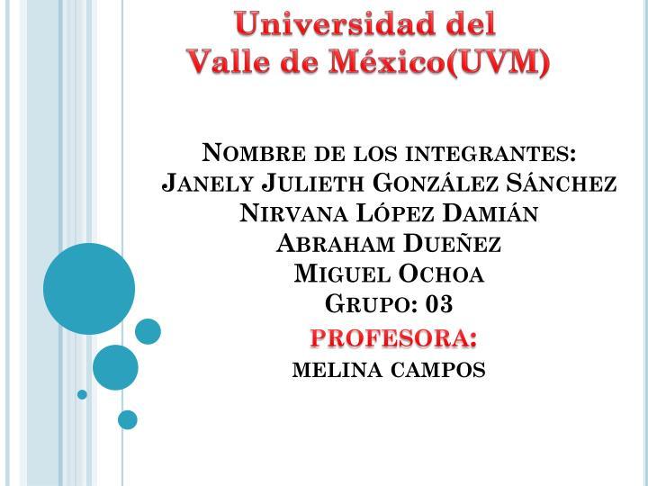 Universidad del