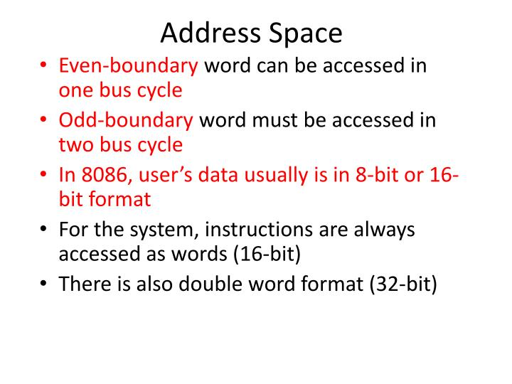 Address Space