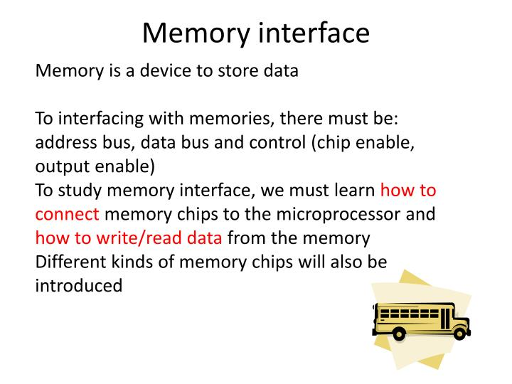 Memory is a device to store data