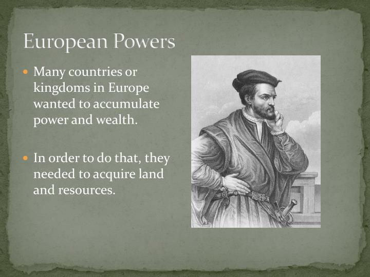 European Powers