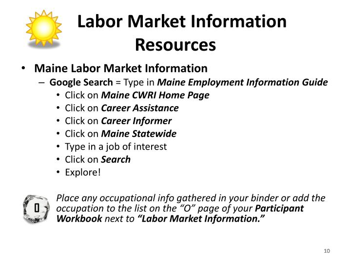 Labor Market Information Resources