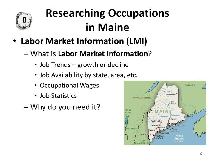 Researching Occupations