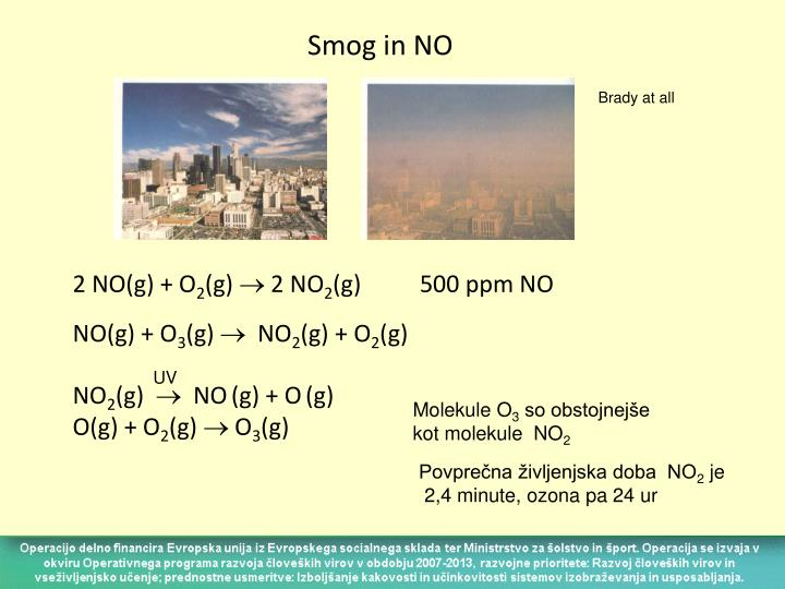 Smog in NO