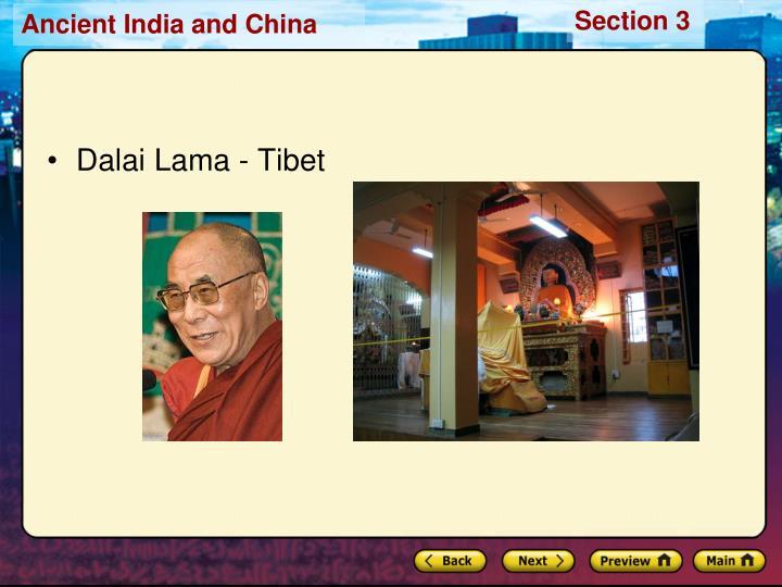 Dalai Lama - Tibet