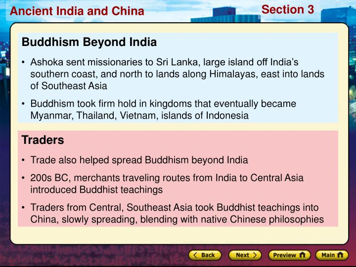 Buddhism Beyond India