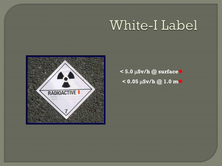White-I Label