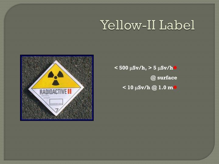 Yellow-II Label