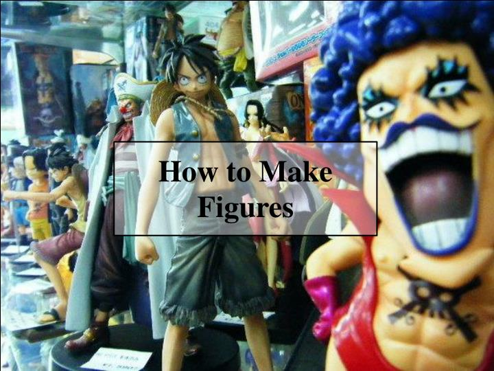 How to make figures