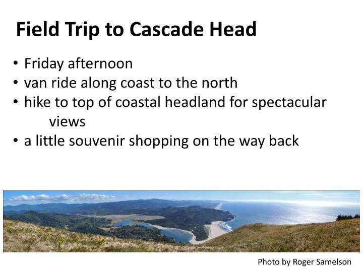 Field Trip to Cascade Head